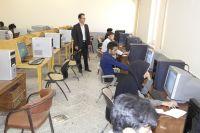 بازدید ریاست محترم دانشگاه از امتحانات پایان ترم واحدهای حاجی آباد ، زهان و اسدیه