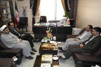 دیدار مدیر کل محترم سازمان بهزیستی استان با ریاست دانشگاه